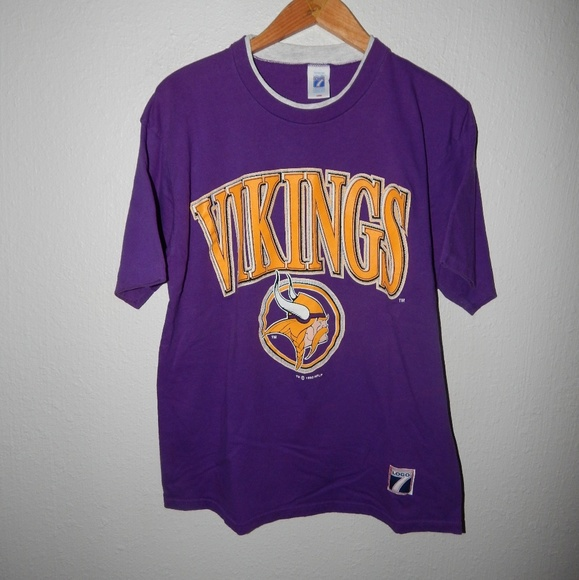 03de000d Vintage Shirts | 1992 Minnesota Vikings Logo 7 Tshirt | Poshmark